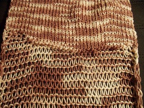 Vzory pro ruční pletení | Páraná oka - rychlopletení