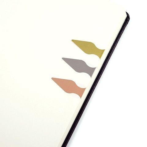 Book Darts - Messing - Stilografika - notesbøger, fyldepenne, blyanter og tilbehør