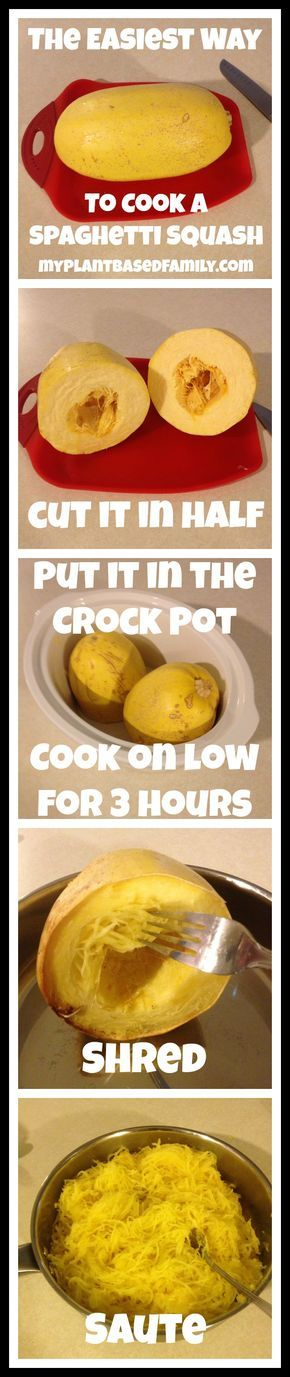 Do you know the absolutely Easiest Way to Cook Spaghetti Squash? It requires no oil and no oven. That's right! Grab your Crock Pot.
