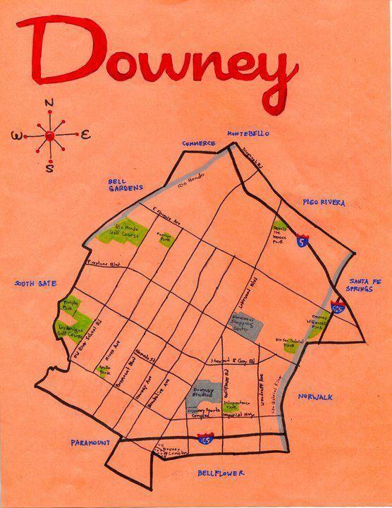 City of Downey - California