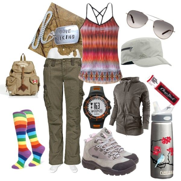 Fashionable hiking clothes