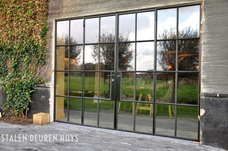 Monumentale buitenpui met dubbele deuren, Project Het Ruiterhuys