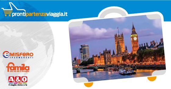 PRONTI, PARTENZA, VIAGGIA! Week end a Londra da € 365,00 Scopri di più su