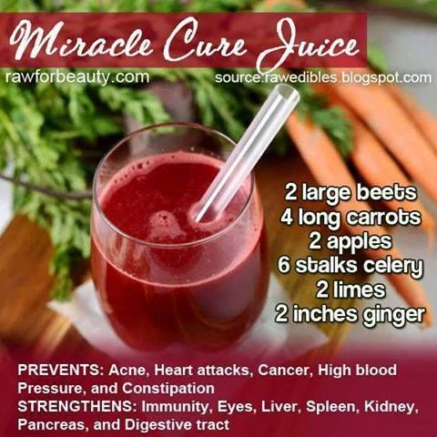 Miracle Cure Juice