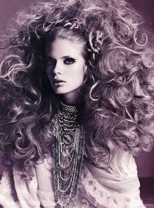 "Fashion Flashbacks:  ""Back Combing""  Vogue Italia, September 2005  Photographer: Richard Burbridge Model: Julia Stegner"