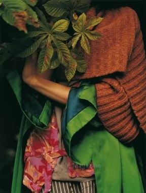 Bloom magazine 12.Image magnifique/ composition./ forme/ couleurs....superbe