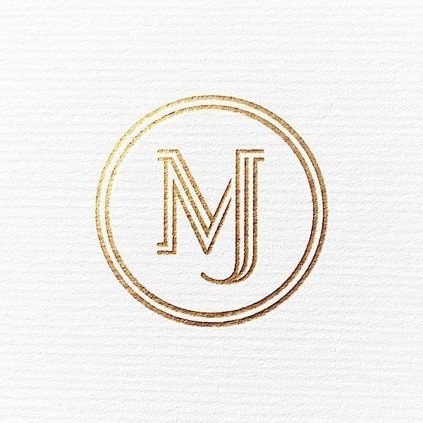 Logo Inspiration Mj Monogram By Ryan Kirkpatrick Hire Quality Logo And Branding Designers At Twine T Monogram Logo Design Makeup Logo Design Startup Logo