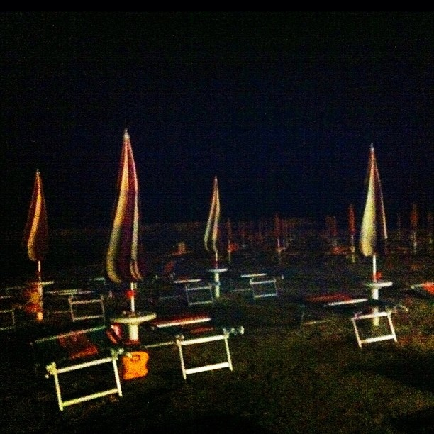 La spiaggia di notte. #Beach #bynight