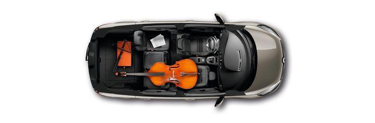 Renault Grand Scenic - pojemność