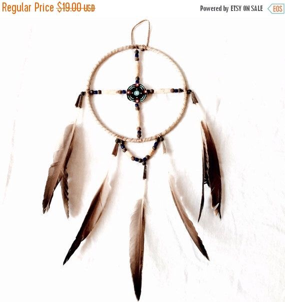 CYBER MONDAY SALE Authentic dream catcher native made vintage canadian native art by Kimscottageloft on Etsy https://www.etsy.com/listing/245636644/cyber-monday-sale-authentic-dream