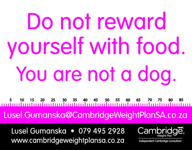 Cambridge Weight Plan - Fun Motivation to start shedding those kilo's...