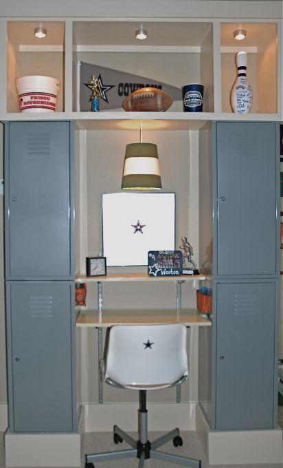 20 boys football room ideas - Boys Desk Ideas