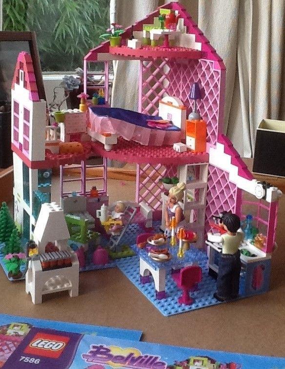Lego Belville Doll`s House 7586 Sunshine Home (450 pieces) 2008   Spielzeug, Baukästen & Konstruktion, LEGO   eBay!