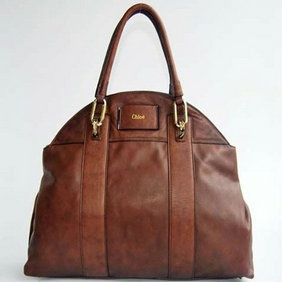 Chloe bag in coffee