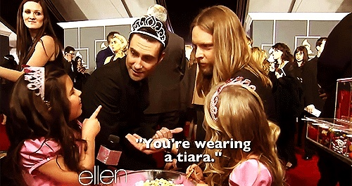 sophia grace and rosie meet adam levine