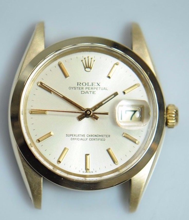 #Forsale #Rolex 1503 14k Gold Oyster Perpetual 34mm Mens Automatic Watch Head Only - Price @$1,900.00