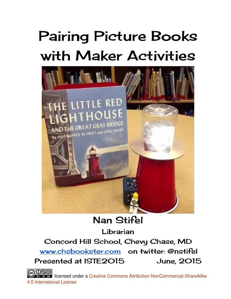 Examples of children's books and the maker projects they inspire