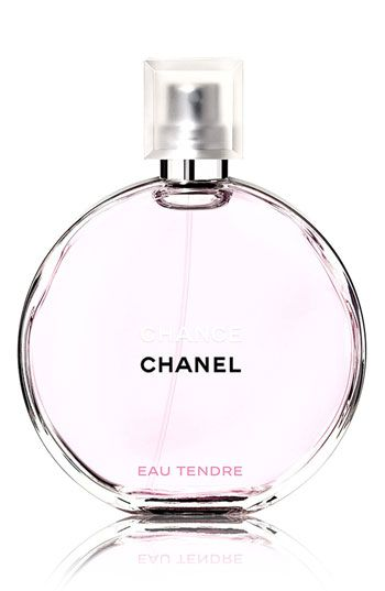 CHANEL CHANCE EAU TENDRE  Just bought this today and I'm in love with it!  It's soft and clean, it'll be a great summer perfume.