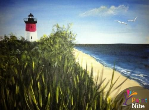 Paint Nite Baltimore | Ryleigh\'s Oyster 04/19/2015