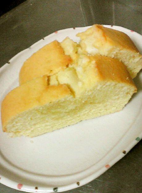 オリーブ油と卵1個で!パウンドケーキ