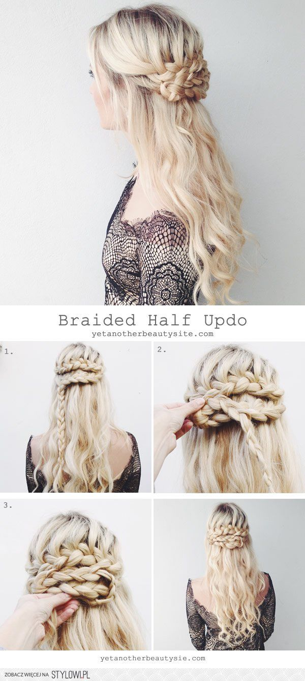 567 best Hairdo - step by step tutorials images on Pinterest ...