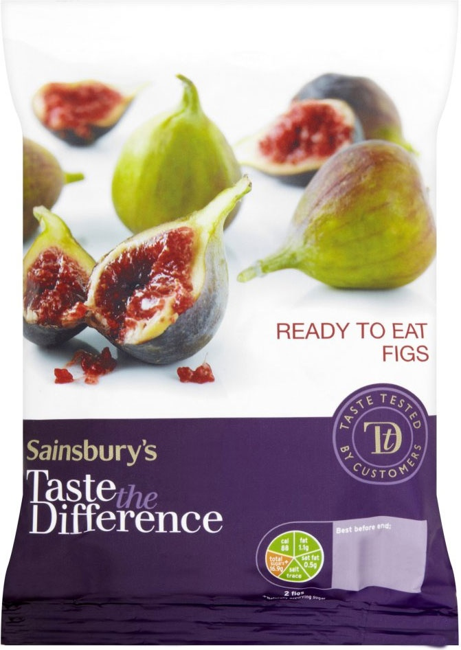 Sainsbury's Taste the Difference Ready to Eat Figs (250g)
