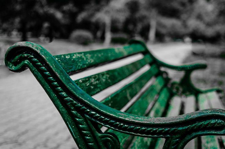 Banco Do Parque, Sessão, Assento, Madeira, Abandonados