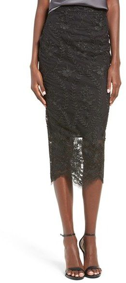 STONE COLD FOX Brinkley Midi Skirt