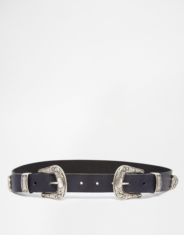 Hit double on your belt buckles with major SS16 Western accessories