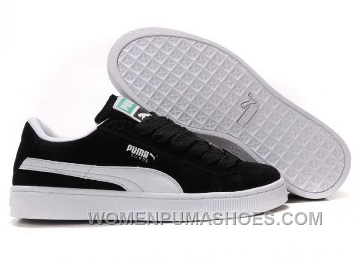 http://www.womenpumashoes.com/puma-the-suede-trainers-black-white-top-deals-mxy3s.html PUMA THE SUEDE TRAINERS BLACK WHITE TOP DEALS MXY3S Only $73.00 , Free Shipping!