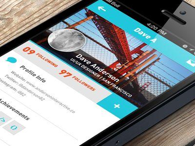 Social App by David Anderson