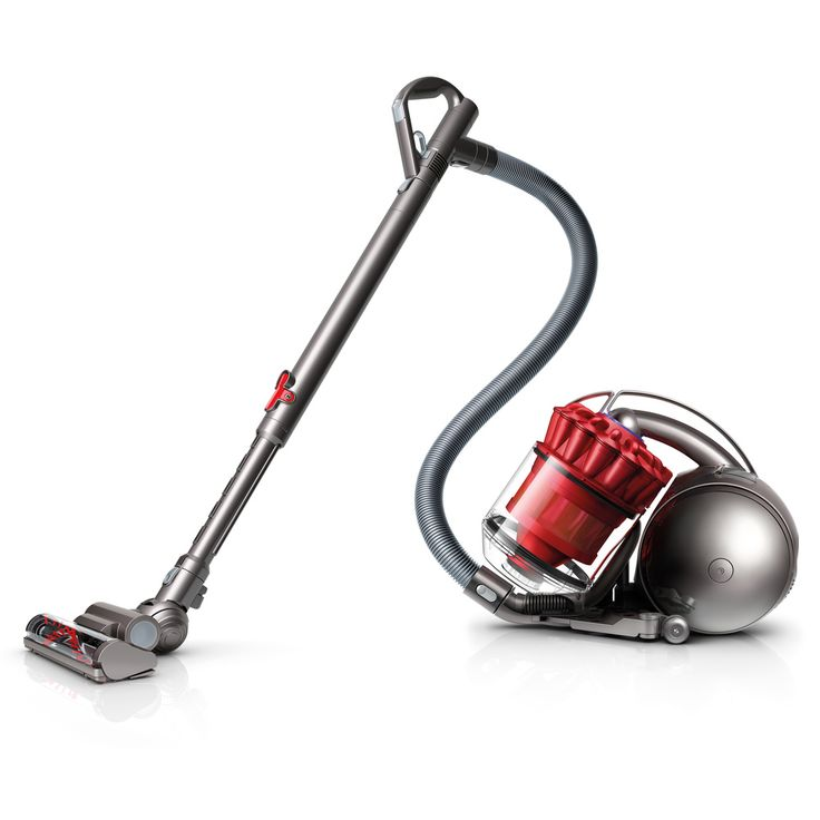 Dyson DC39 Red Multi Floor Canister Vacuum (Refurbished) - Overstock™ Shopping - Great Deals on Dyson Vacuum Cleaners