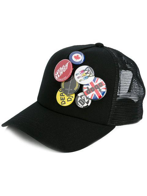DSQUARED2 D2 Mixed Pins Cap. #dsquared2 #cap