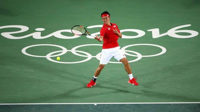 Kei Nishikori came back in both sets to beat Aussie John Millman on Monday evening. Getty Images