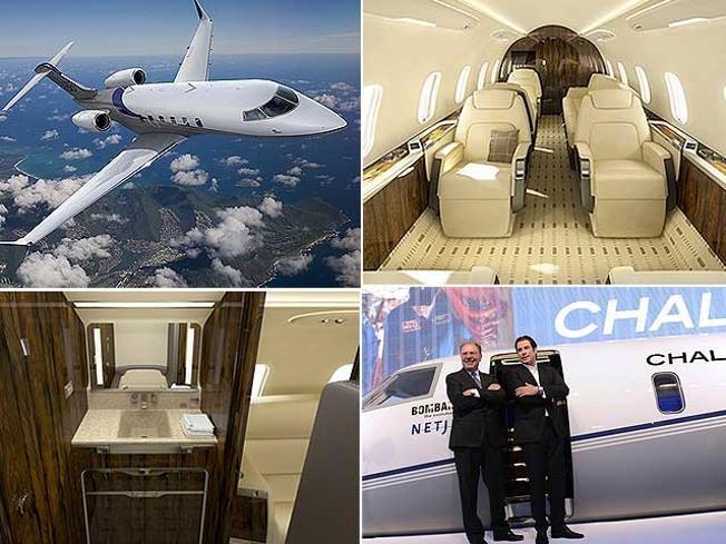 Bombardier Aerospace unveils mid-size Challenger 350 business jet