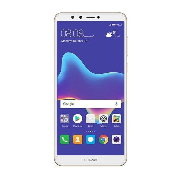 هواوي واي 9 برايم 2018 بشريحتين الذهبي Huawei Phone Electronic Products