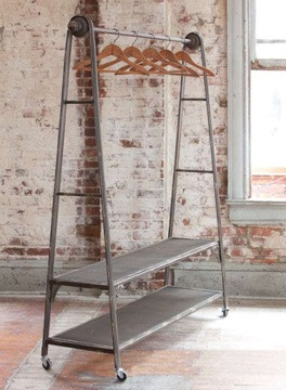Great Rolling Rack for display or collection shoots.