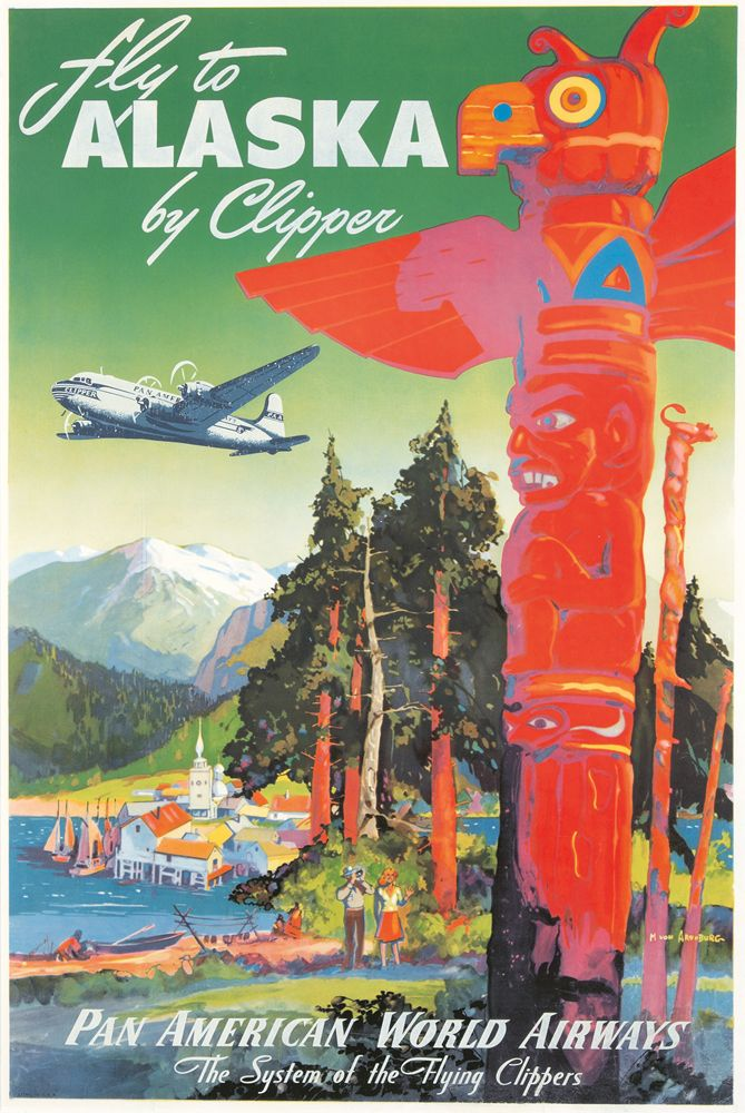 Pan American / Alaska. ca. 1939 - Mark Arenburg