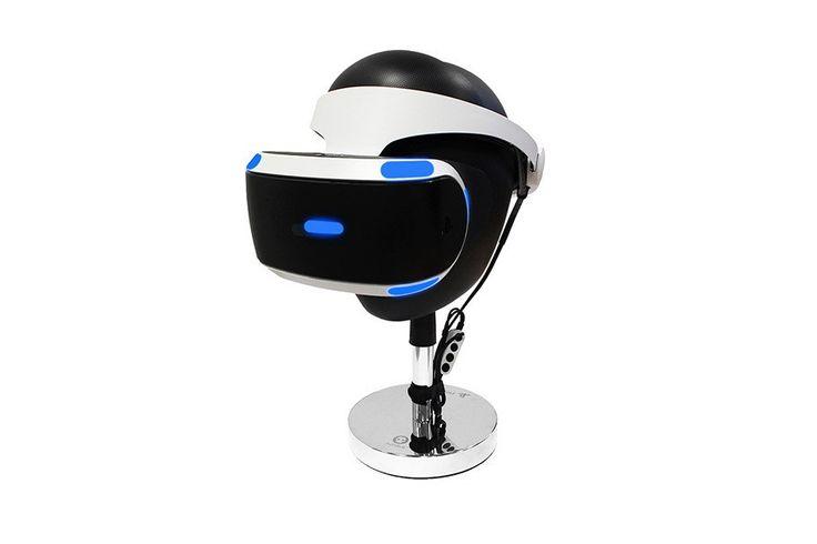 Certains d'entre vous on déjà peut-être trouvé des solutions pour éviter de le faire trainer un peu partout mais si ce n'est pas le cas, la société Numskull propose un moyen de ranger proprement votre casque Playstation VR. Sous licence officielle Sony, l'Official Sony VR Headset Stand est composé d'un socle chromé surmonté d'un support noir ajustable en hauteur sur lequel vous pouvez reposer le casque virtuel. Pour le moment, l'objet semble être en rupture de stock et impossible de…