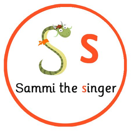 Learn the letter sound 'S'. Watch 5 minute animated episode introducing a character called Sammi the singer and then completing 3 exercises   Free Phonics App EYFS, KS1  
