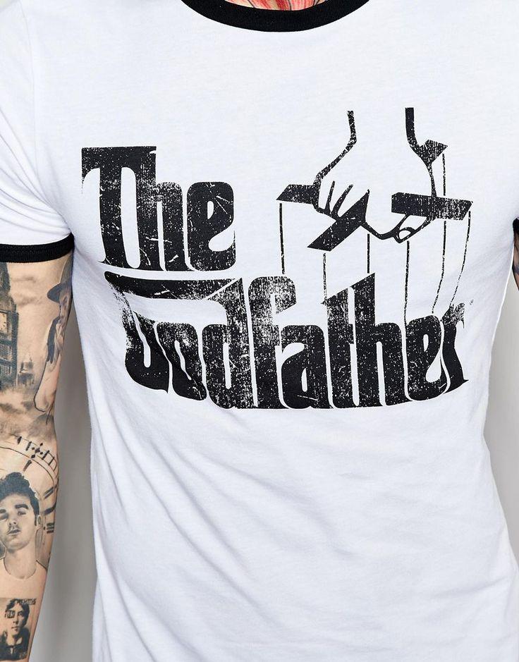コントラスト首とゴッドファーザーを印刷するとASOSマッスルTシャツの画像3