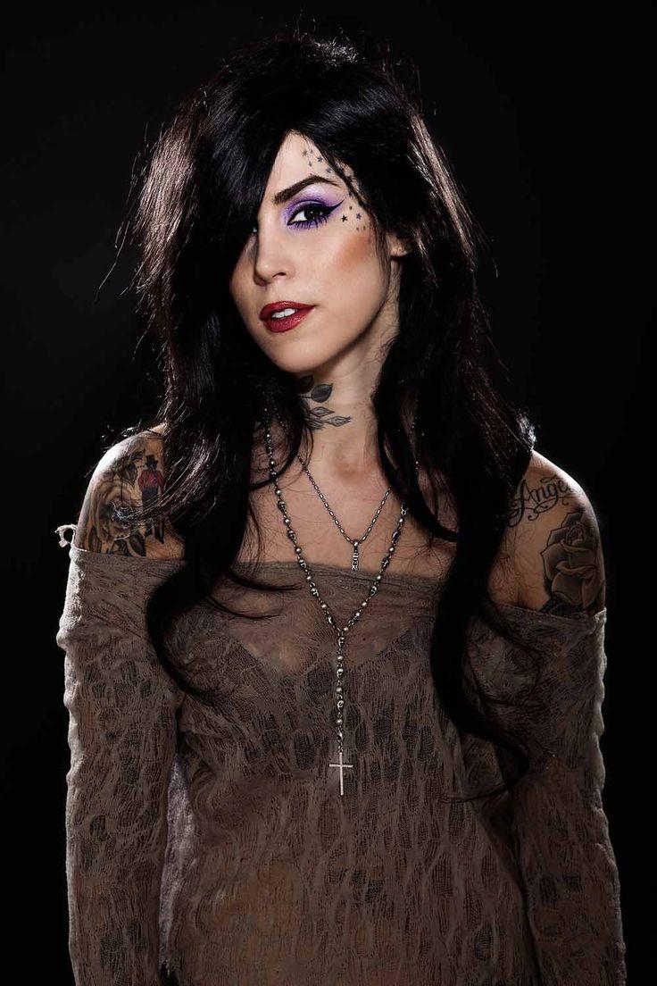 Tattoo Girl Von - Kat von d