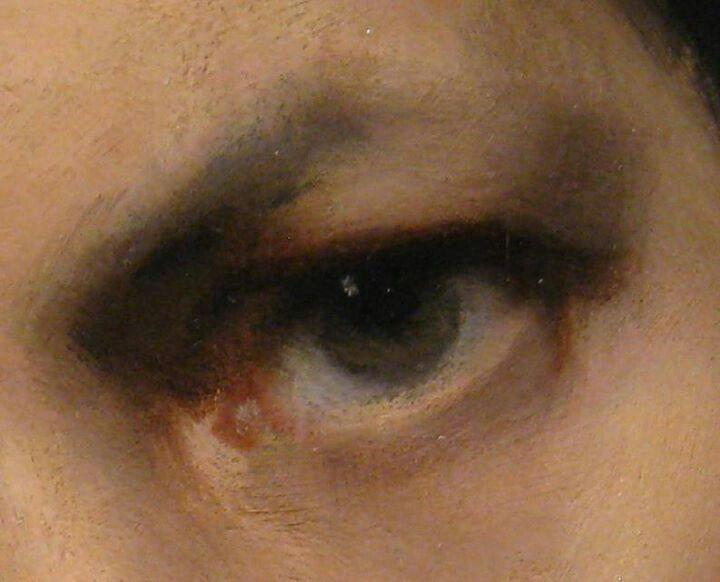 No hard edges - John Singer Sargent's portrait of Carolus Duran (detail)