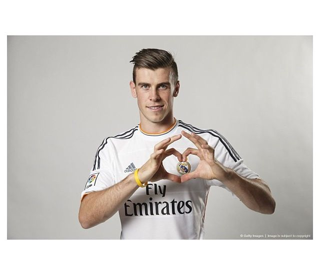 Bale, joining Real Madrid