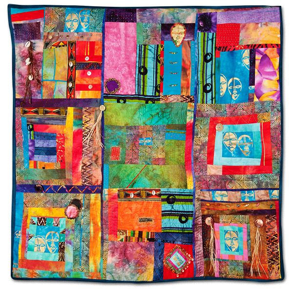 African Jazz by Jackquelynn Jones  from empirequilters.net: Empire Quilter, Colors Wheels