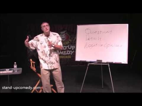 Stand Up Comedy Classes Q&A: Take Responsibility for Bombing - Greg Dean