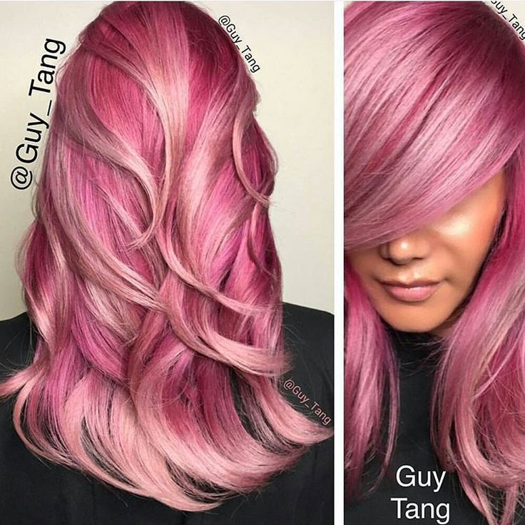 """""""Would you rock this hair do? @guy_tang Using @olaplex"""""""