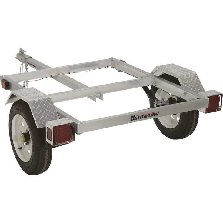 FREE SHIPPING — Ultra-Tow 40in. x 48in. Aluminum Utility Trailer Kit — 1060-Lb. Load Capacity | Trailers| Northern Tool + Equipment
