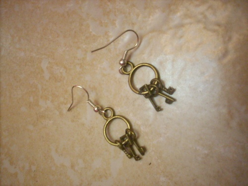 Orecchini *keys of the prison* earrings