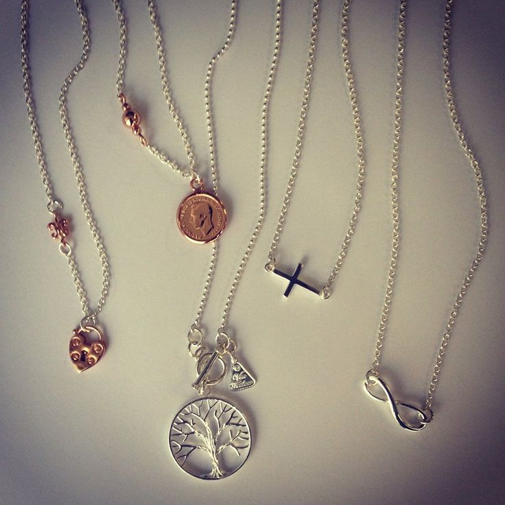 Gorgeous range of necklaces including; tree of life, infinity